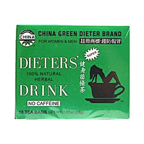Uncle Lee's China Green Dieters Tea Dieter's Drink (1x18 Tea Bags)