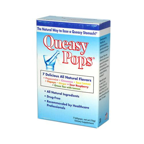 Three Lollies Queasy Pops Assorted (1x7 Count)