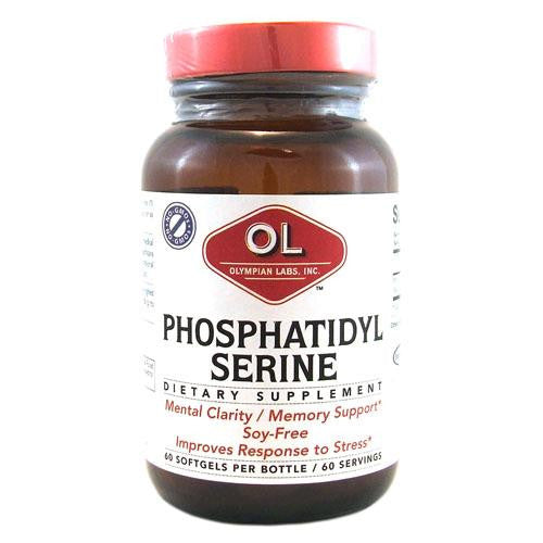 Olympian Labs Phosphatidyl-serine 100 Mg (60 Softgels)