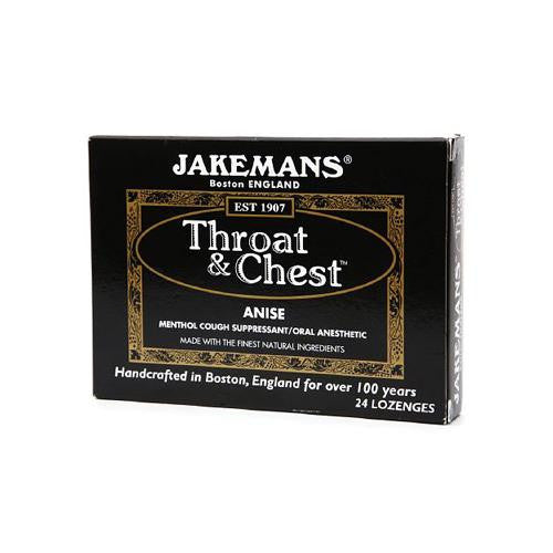 Jakemans Throat And Chest Lozenges Anise (1 X24 Count)