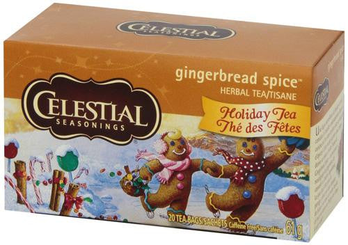 Celestial Seasonings Gingerbread Spice Tea (1x20 Bag)