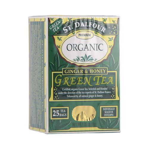 St Dalfour Ginger And Honey Green Tea (1x25 Tea Bags)