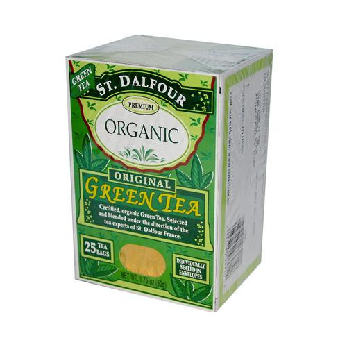 St. Dalfour Premium Organic Green Tea (1x25 Bag)