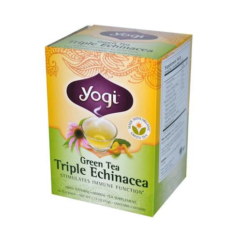Yogi Green Triple Echinacea Tea (1x16 Bag)