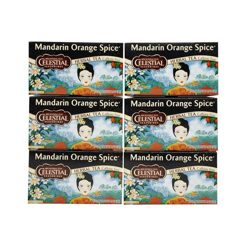 Celestial Seasonings Mandarin Orange Spice Herb Tea (1x20bag)
