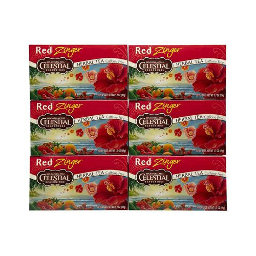 Celestial Seasonings Red Zinger Herb Tea (1x20 Bag)