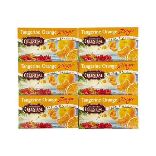 Celestial Seasonings Tangerine Orange Herb Tea (1x20 Bag)