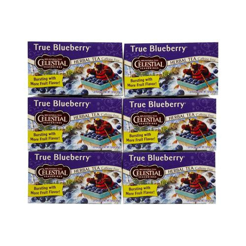 Celestial Seasonings True Blueberry Herb Tea (1x20 Bag)