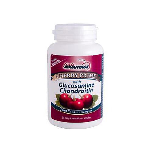Fruit Advantage Cherry Prime Joint Comfort Complex With Glucosamine Chondroitin (90 Softgels)