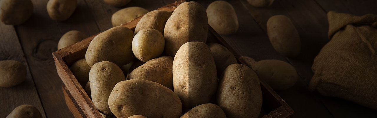 non gmo project verified labeled potatoes