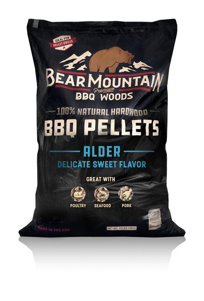 Bear Mountain BBQ Wood Pellets Alder