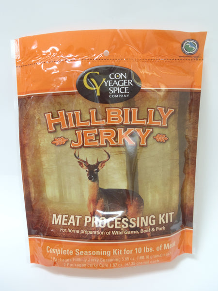 Con Yeager Hillbilly Jerky Kit