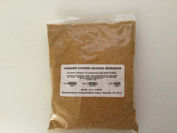 Ken's Tandoori Chicken Sausage Seasoning (1 lb pack)