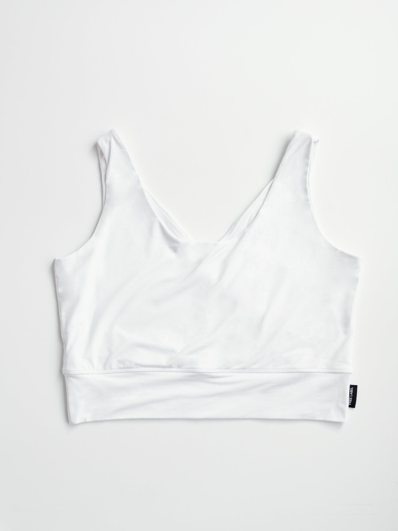 Free Label White Becky Bra