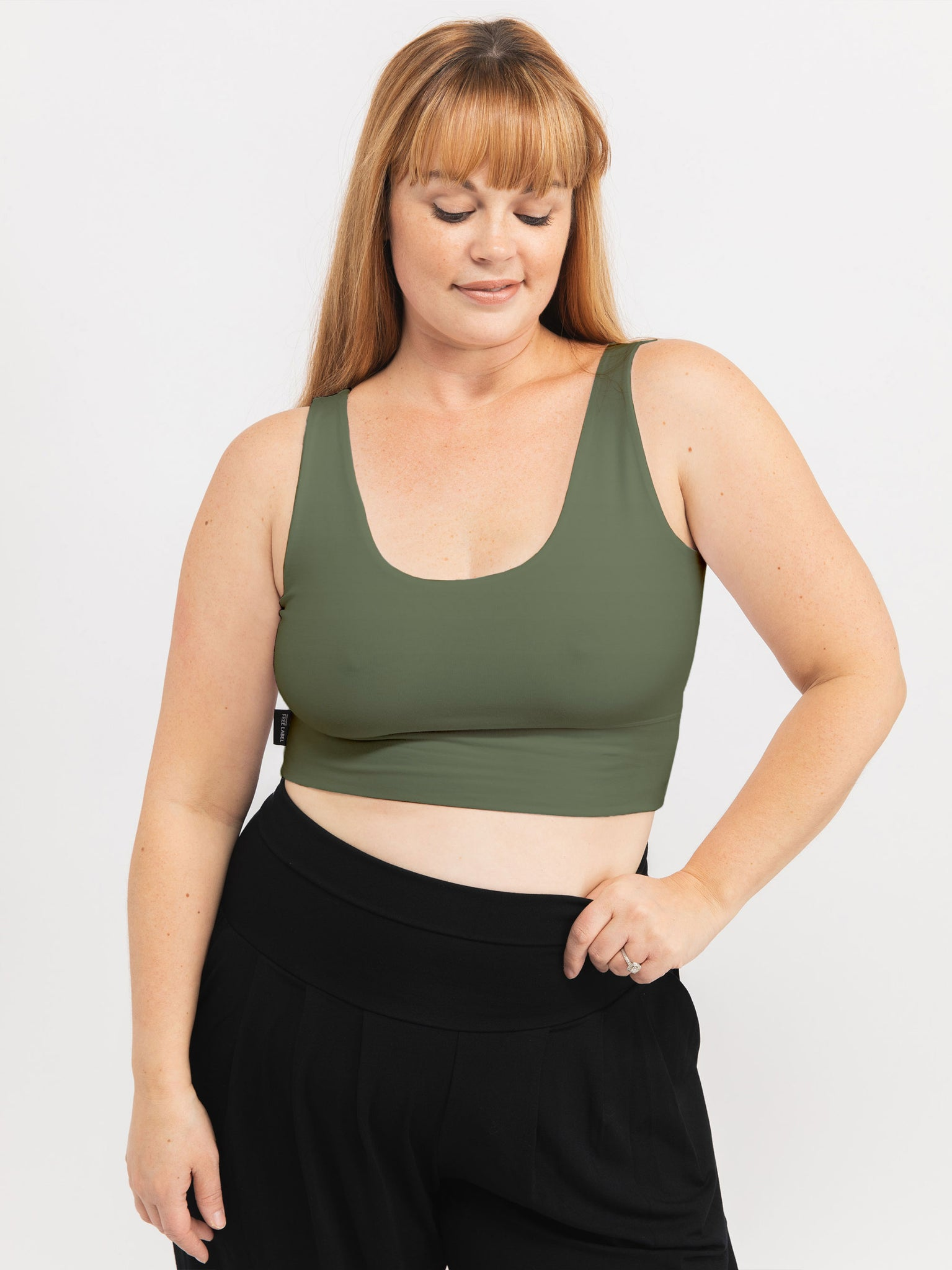 ARMY GREEN THOMPSON BRA