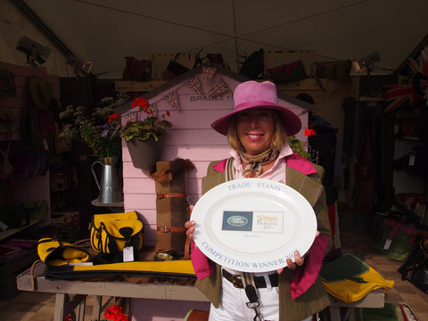 We win best in show at Burghley