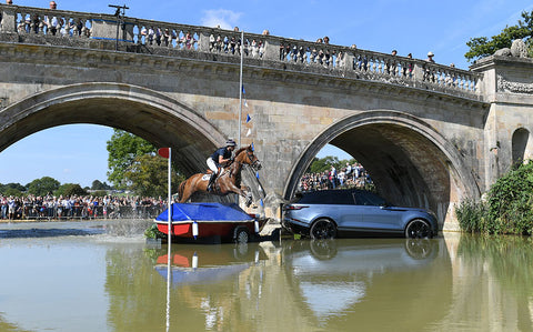 Bradley's the tannery at Burghley Horse Trials