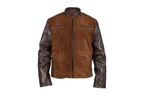 Heritage Suede and Leather Jacket