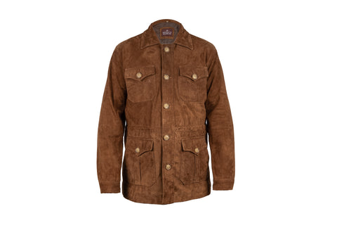 Heritage Suede Padded Safari Jacket