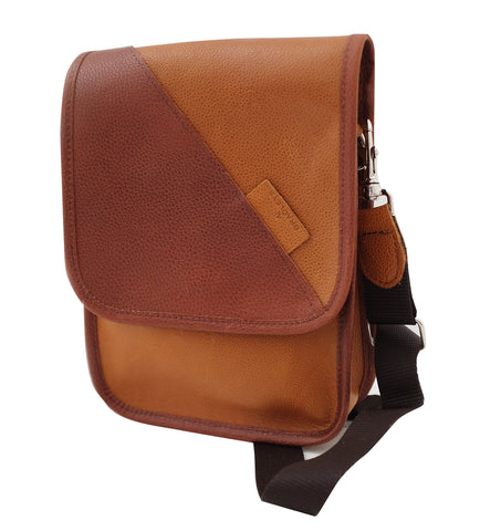Heritage Leather Messenger Bag