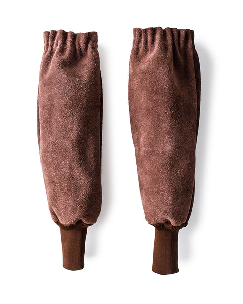 Bradleys the tannery suede leather sleeves