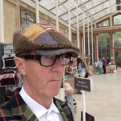 Flag & Tweed Patchwork  Flat Cap