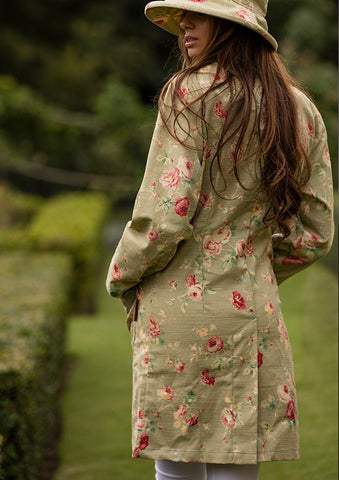 Women's Floral Cotton Jacket