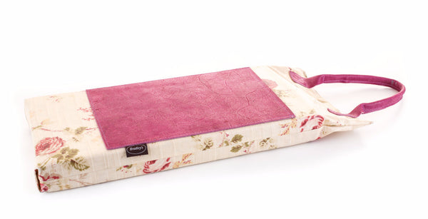 Floral PU & Leather Kneeler