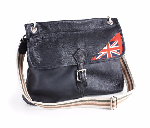 Handmade leather bag bradleys