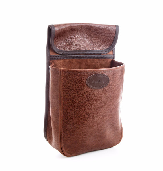 Real leather waist pouch