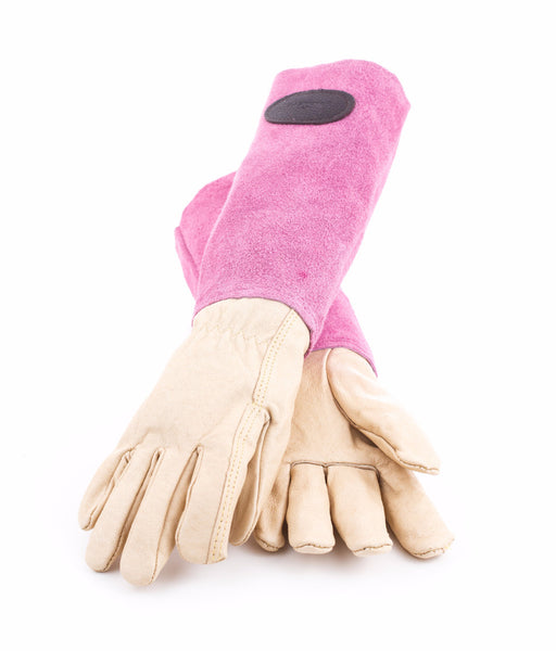 Suede Leather Gardening Gloves