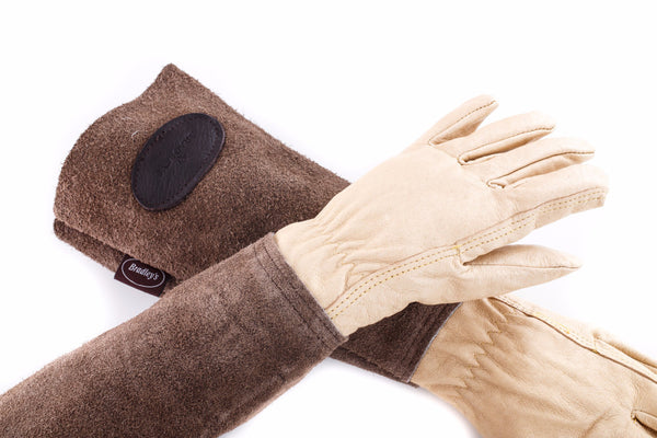 Heritage Leather and Suede Gardening Gloves