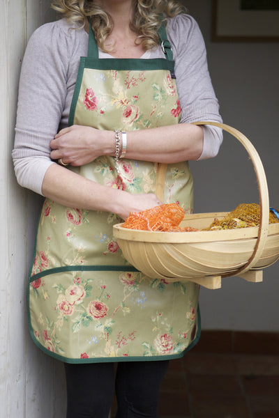 Floral Full Length Apron