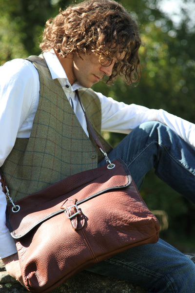 Heritage Leather Poachers Bag