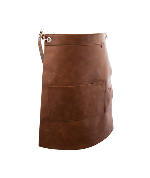 Smooth Leather Waist apron