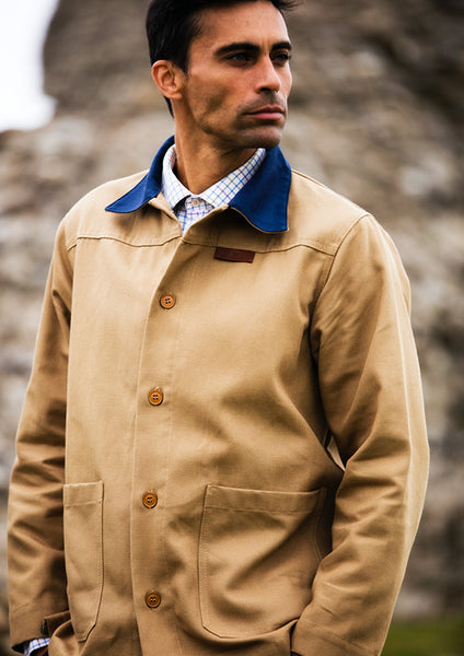 Men's 100% French Cotton Workwear Jacket