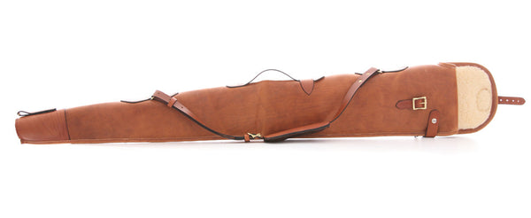 Real leather gunslip made in the uk
