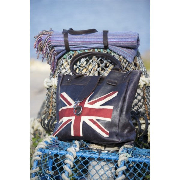 British Flag Weekend Bag