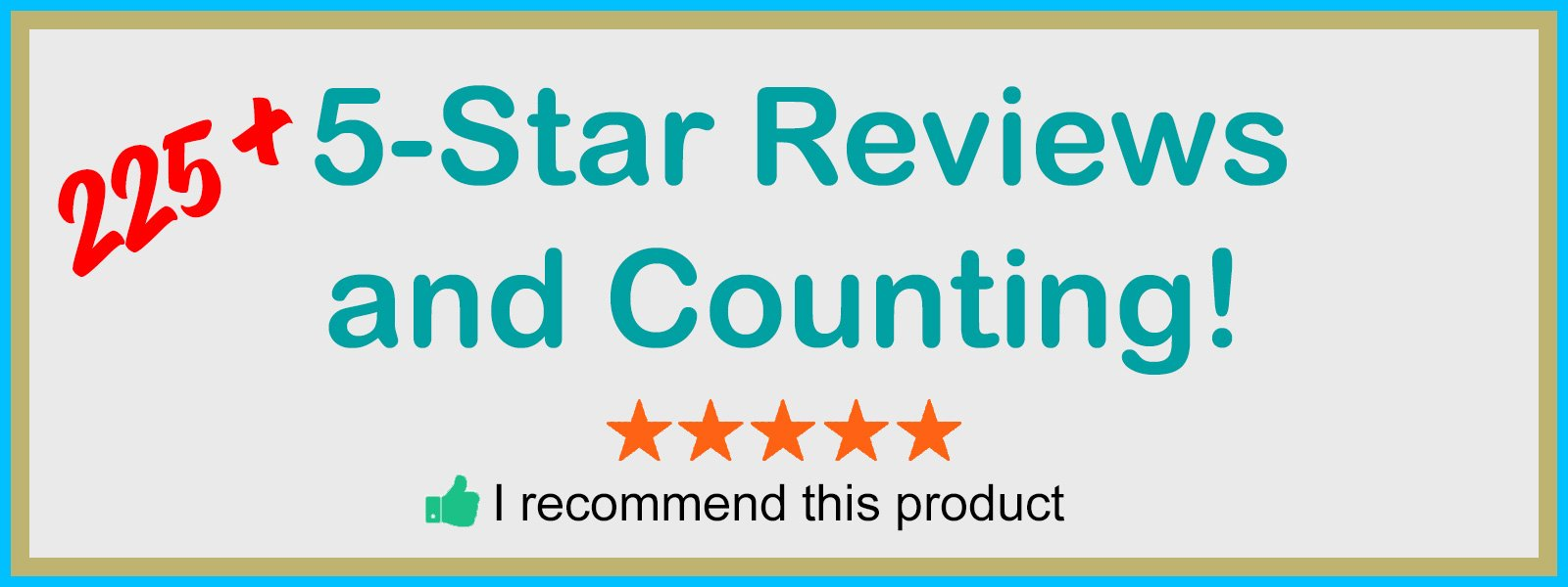 Caravan Cover 5-Star Reviews