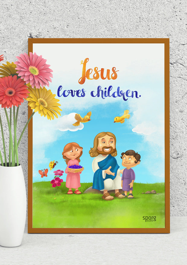 little Jesus posters framed by sporg stores