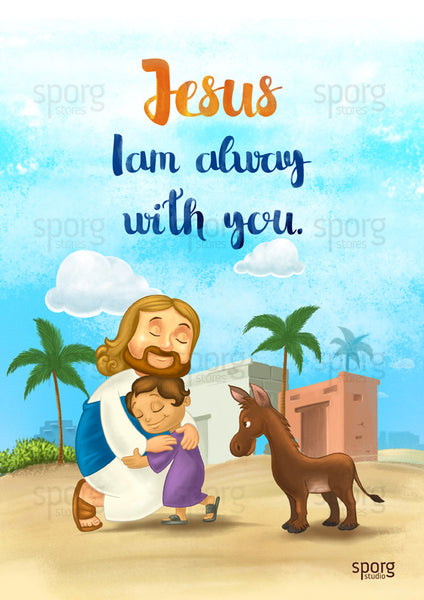Little Jesus poster by Sporg Stores