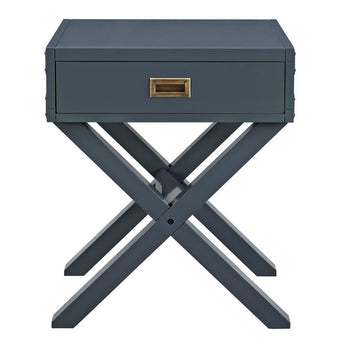 Bonnie cross leg pedestal - Shannen Living