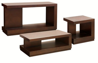 Gino coffee table, lamp table & console - Shannen Living