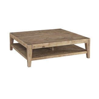 Jason square coffee table - Shannen Living