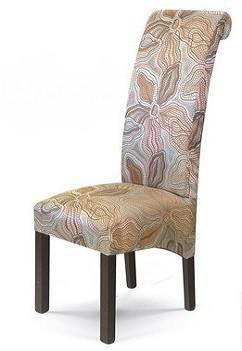 Lacost occasional high back chair with scroll back - Shannen Living