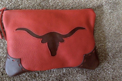 Longhorn Make-Up Bag