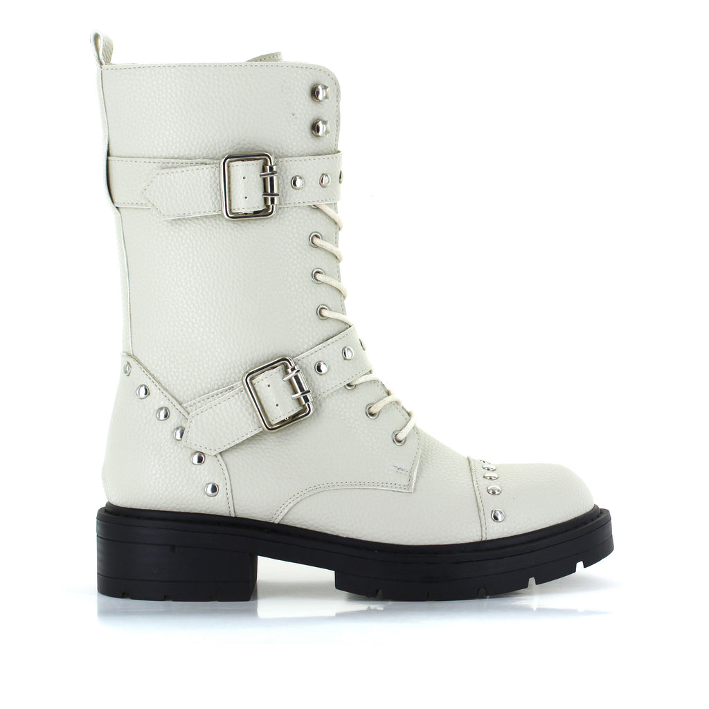 Liberty Studded Combat Boot
