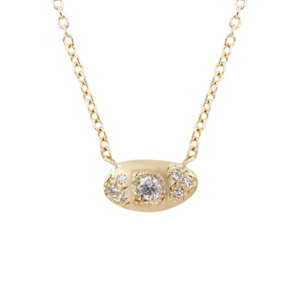 Samara Necklace-White Diamonds