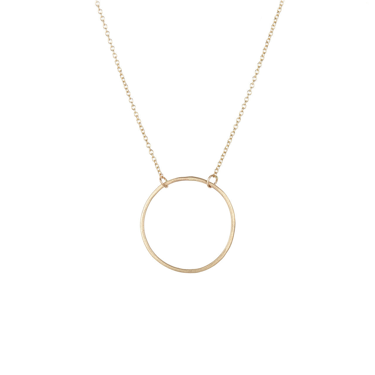 Single Circle Necklace