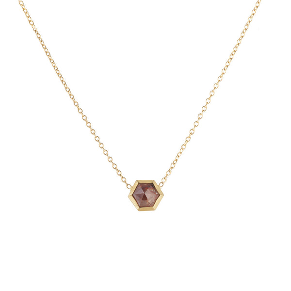 Rosecut Diamond Necklace